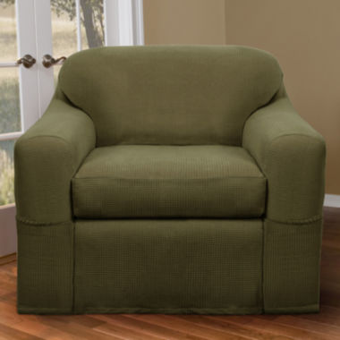 jcpenney.com | Maytex Smart Cover® Reeves Stretch 2-pc. Chair Slipcover