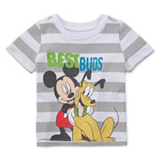 Disney Baby Collection Mickey & Pluto Graphic Tee - Boys newborn-24m