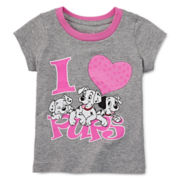 Disney Baby Collection 101 Dalmatians Graphic Tee - Girls newborn-24m
