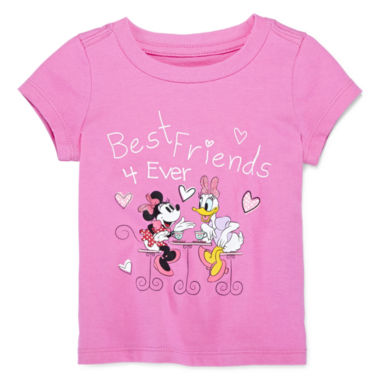 jcpenney.com | Disney Baby Collection Minnie and Daisy Graphic Tee - Girls newborn-24m