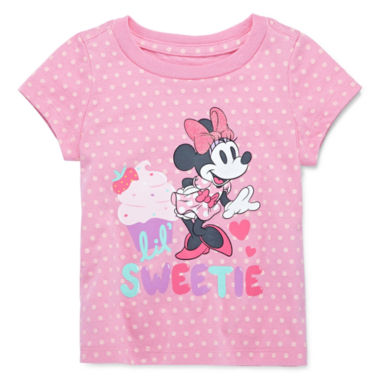 jcpenney.com | Disney Baby Collection Minnie Mouse Graphic Tee - Girls newborn-24m