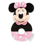 Disney Baby Collection Minnie Mouse Plush Rattle