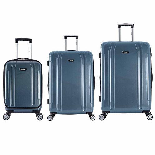 InUSA Southworld Lightweight Hardside Spinner 3-pc. Luggage Set