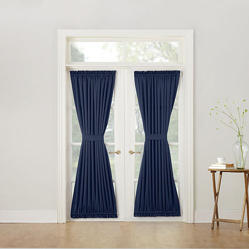 Sun Zero™ Emory Room-Darkening Rod-Pocket Door Panel