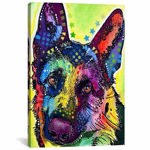 Icanvas German Shepherd Canvas Art
