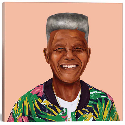 Icanvas Nelson Mandela Canvas Art
