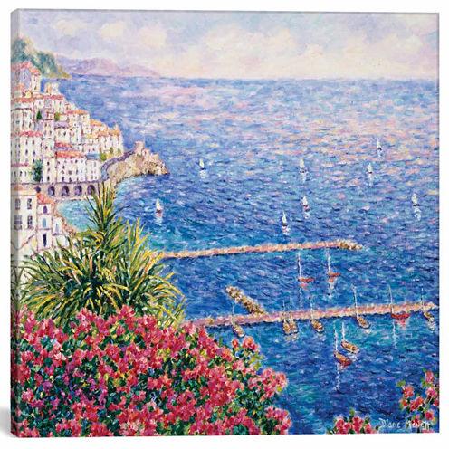 Icanvas Amalfi First View Canvas Art