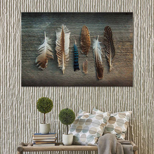 Icanvas Feather Collection I Canvas Art
