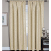 Elrene Zen Back-Tab/Rod Pocket Curtain Panel