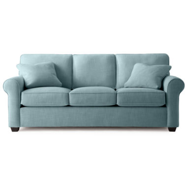 jcpenney.com | Fabric Possibilities Roll-Arm Queen Sleeper Sofa