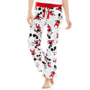 Disney Graphic Print Cotton Sleep Pants - Juniors
