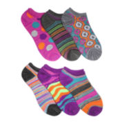 Mixit™ 6-pk. Novelty No-Show Socks