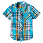 Arizona Short-Sleeve Classic Woven Shirt - Boys 2t-6
