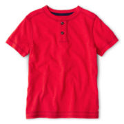 Arizona Short-Sleeve Henley Tee - Boys 2t-6