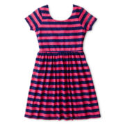 Speechless® Short-Sleeve Lace Knit Dress - Girls 6-16 and Plus