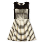 Sally M™ Sally Miller Sleeveless Skater Dress - Girls 6-16