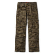 Arizona Belted Cargo Pants - Boys 6-18, Slim and Husky