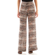 Self Esteem® Crepe Tie Pants