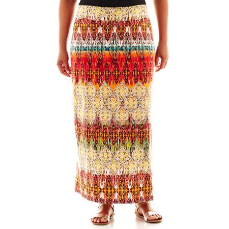 Alyx Print Maxi Skirt - Plus