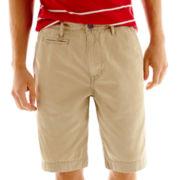 Arizona Solid Twill Shorts