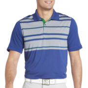 IZOD® Golf Pieced English-Stripe Polo