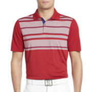 IZOD® Golf Pieced English-Stripe Polo