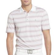 IZOD® Golf Short-Sleeve Feeder-Striped Polo
