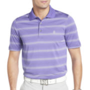 IZOD® Golf Short-Sleeve Feeder-Striped Polo