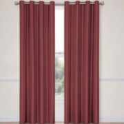 Eclipse® Handel Stripe Grommet-Top Blackout Curtain Panel with Thermalayer