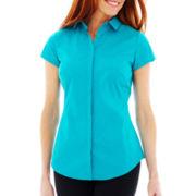 Worthington® Essential Short-Sleeve Shirt