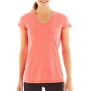 Xersion™ Short-Sleeve Melange Tee - Tall