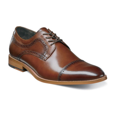 88f0b6b4b949d Stacy Adams Dickinson Mens Leather Cap Toe Oxfords JCPenney