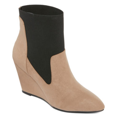 jcpenney.com | Style Charles Elsa Pointed Toe Wedge Shooties