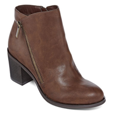 jcpenney.com | a.n.a® Otis Side Zip Ankle Booties