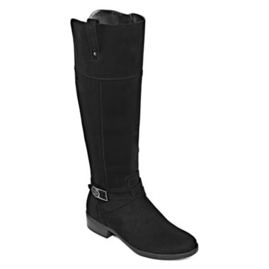 jcpenney.com | Liz Claiborne® Palermo Riding Boots - Wide Width, Wide Calf
