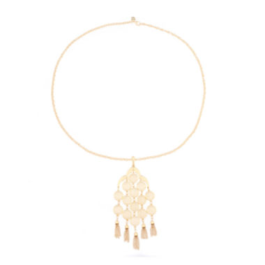 jcpenney.com | Monet® Gold-Tone Pendant Necklace