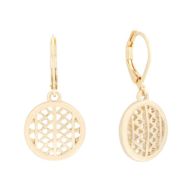 jcpenney.com | Monet® Gold-Tone Drop Earrings
