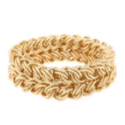 Monet® Gold-Tone Link Stretch Bracelet
