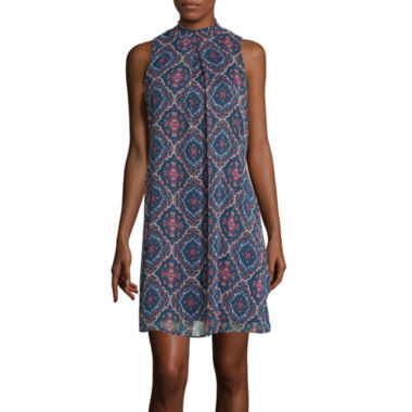 jcpenney.com | Speechless® Sleeveless Printed Chiffon Dress
