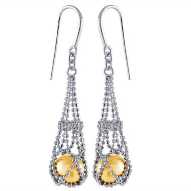 jcpenney.com | 8-9Mm Genuine Golden South Sea Pearl Sterling Silver Earrings