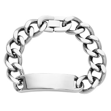 jcpenney.com | Mens Stainless Steel ID Chain Bracelet
