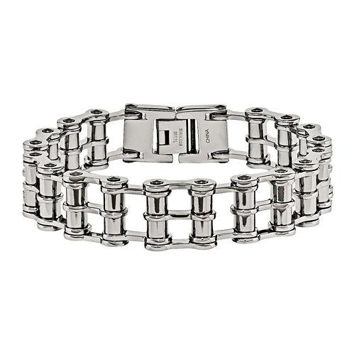 Mens Stainless Steel Chain Bracelet