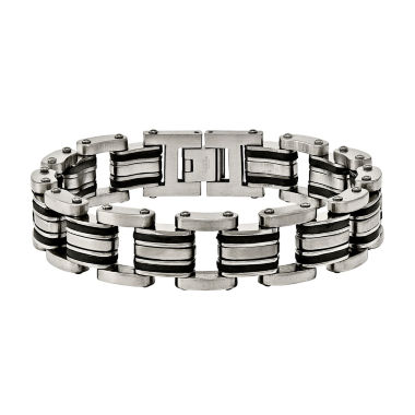 jcpenney.com | Mens 8.25 Inch Stainless Steel Chain Bracelet