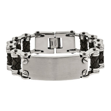 jcpenney.com | Mens 9 Inch Stainless Steel Chain Bracelet