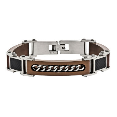 jcpenney.com | Mens 8 Inch Stainless Steel Chain Bracelet
