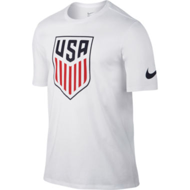 jcpenney.com | Nike® Short-Sleeve USA Crest Cotton Tee