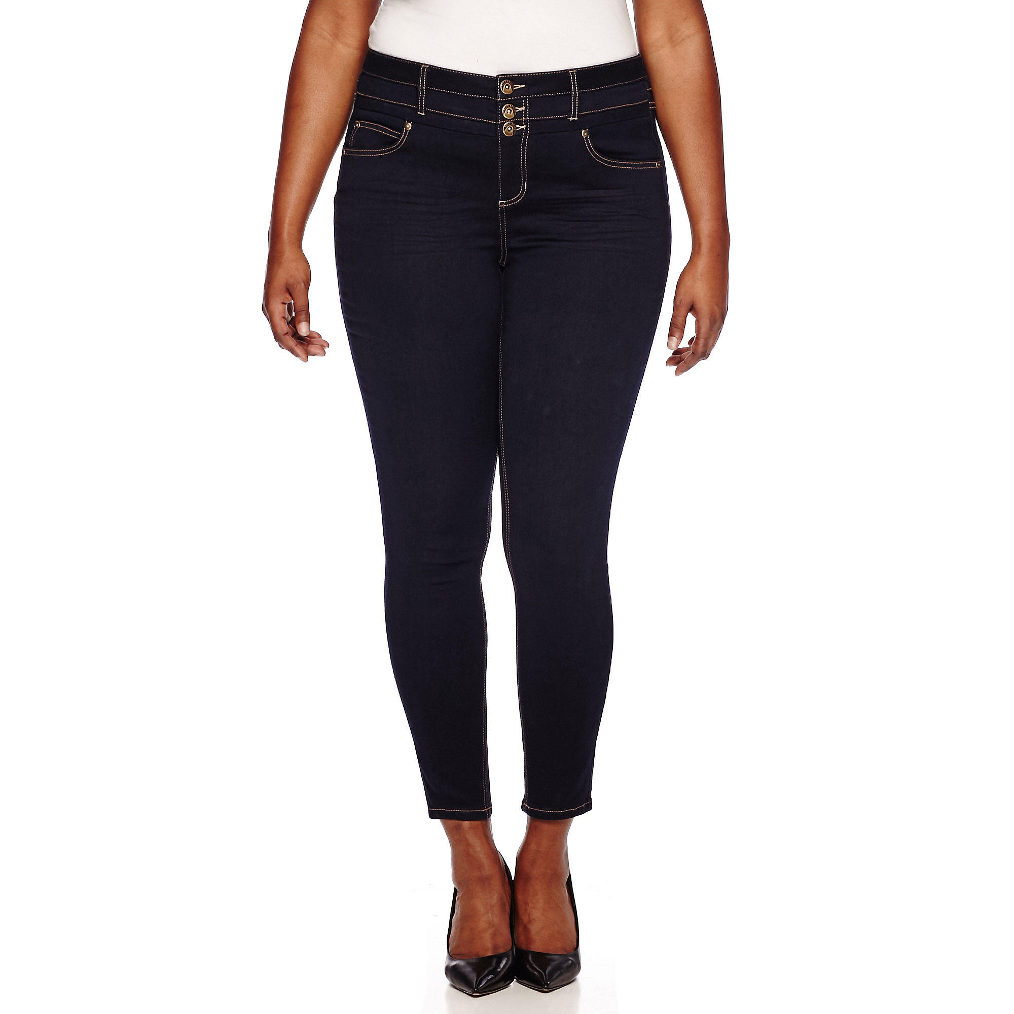 Blue Spice Super-Soft High-Rise Skinny Jeans - Juniors Plus plus size,  plus size fashion plus size appare