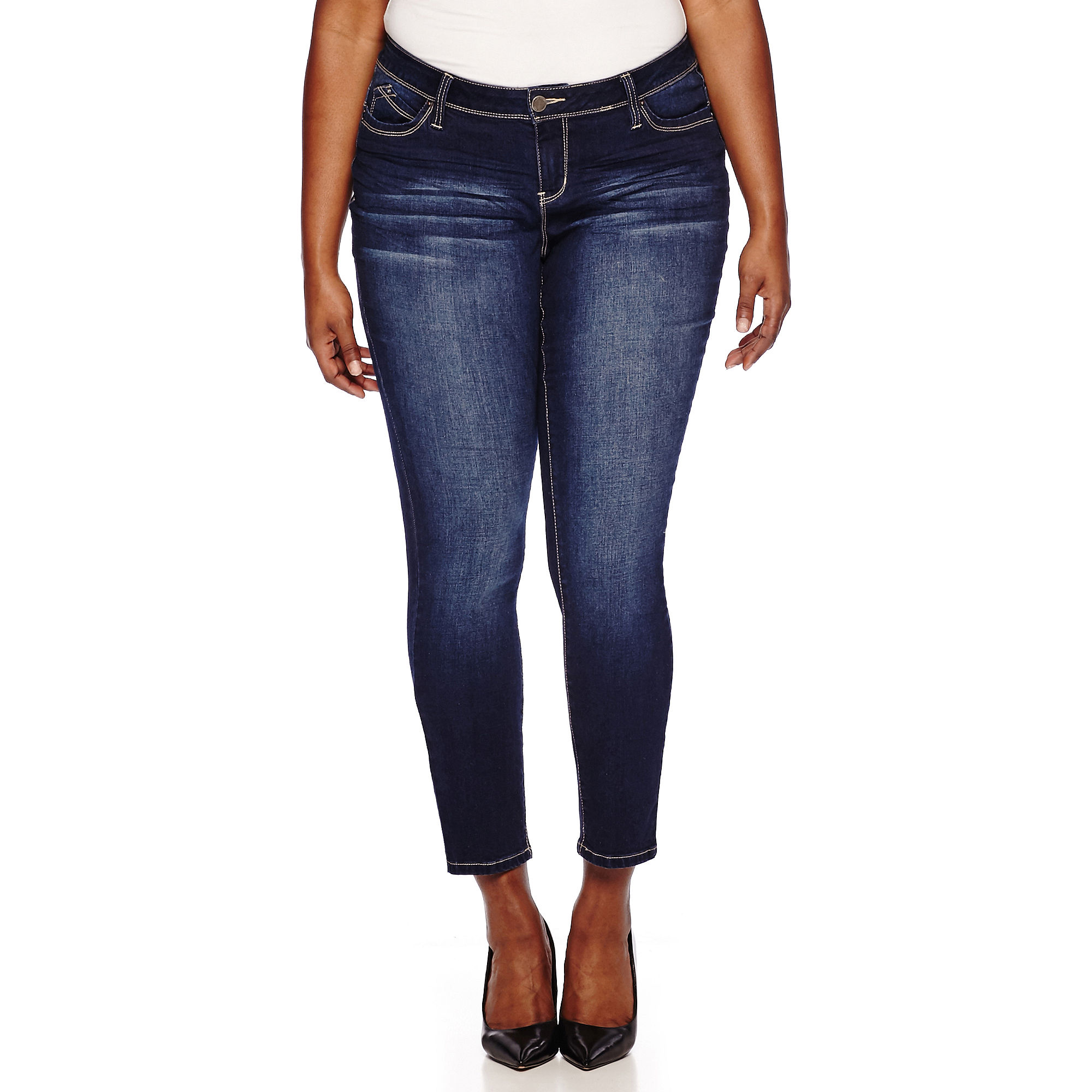 YMI Wanna Betta Butt Skinny Jeans - Juniors Plus plus size,  plus size fashion plus size appare