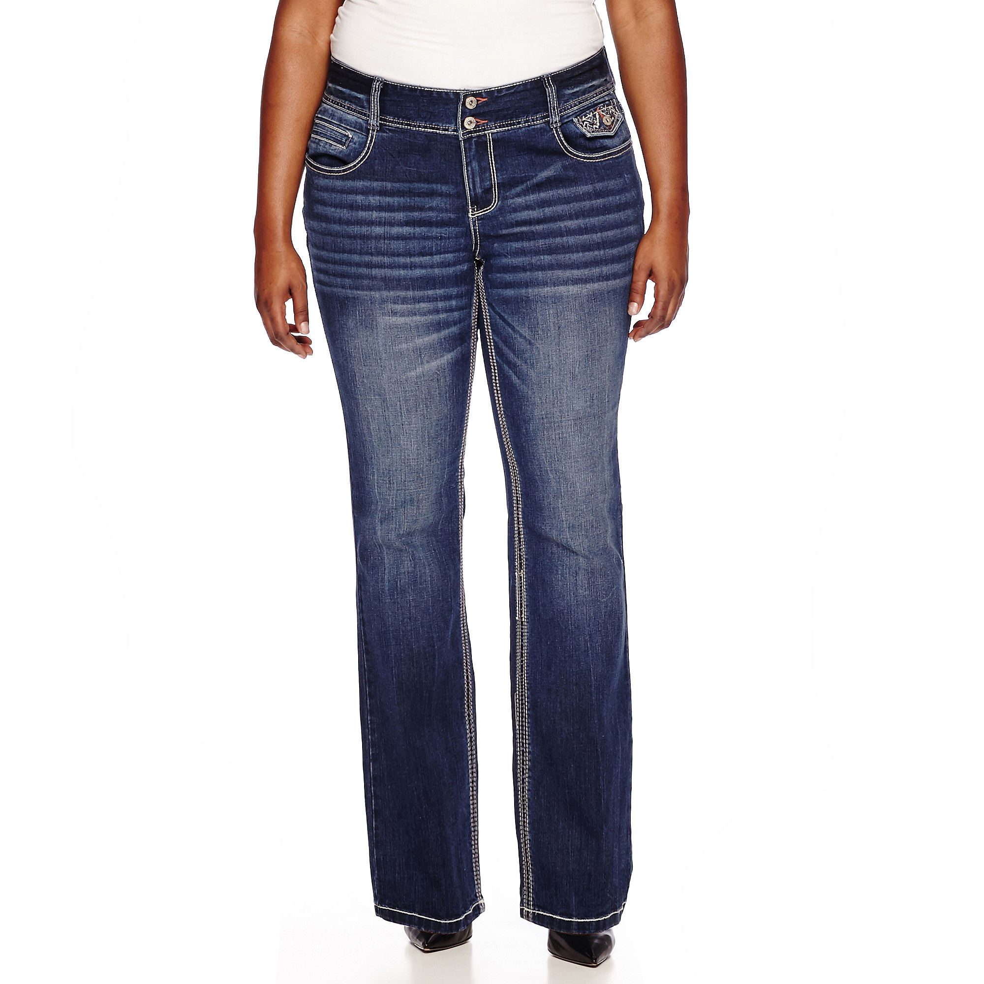 Ariya™ Curvy Bootcut Jeans - Juniors Plus plus size,  plus size fashion plus size appare