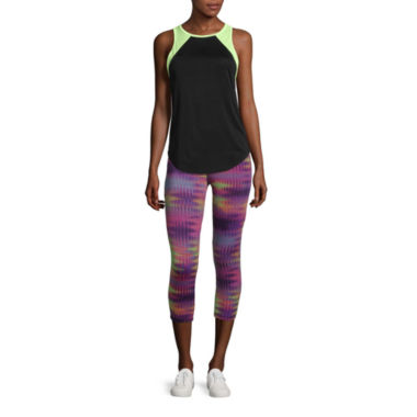 jcpenney.com | City Streets® Colorblock Tank Top or Performance Crop Leggings